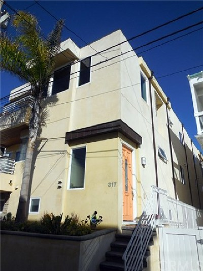 Manhattan Beach Condo/Townhouse For Sale: 317 1st Place