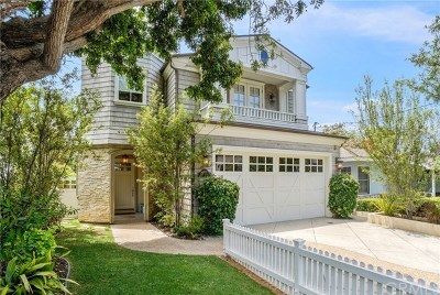 Manhattan Beach Single Family Home For Sale: 1417 Elm Avenue