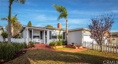 Torrance Single Family Home For Sale: 22626 Anza Avenue