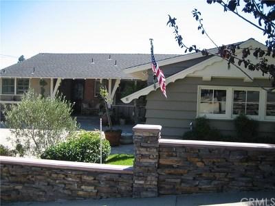 San Pedro Single Family Home For Sale: 1853 W Santa Cruz Street