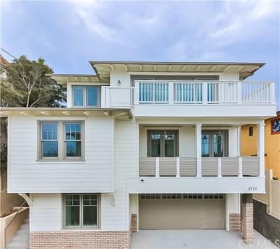 Hermosa Beach Condo/Townhouse For Sale: 1724 Prospect Avenue