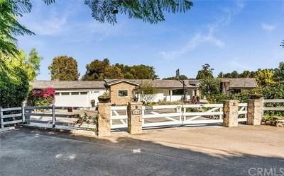 Rolling Hills Estates Single Family Home For Sale: 3747 Palos Verdes Drive N
