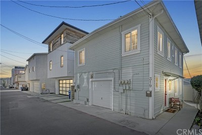 Hermosa Beach Multi Family Home For Sale: 317 Bayview Drive