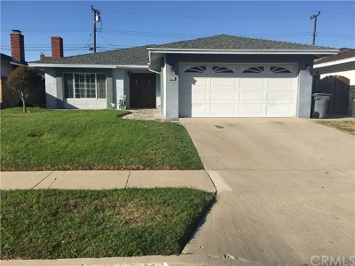 Torrance Single Family Home For Sale: 3619 Sara Drive
