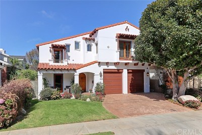 Manhattan Beach Single Family Home For Sale: 1555 8th Street