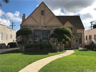 Los Angeles Single Family Home For Sale: 7426 S Harvard Boulevard