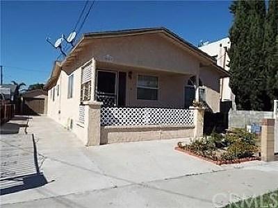 Carson Multi Family Home For Sale: 20807 Margaret Street