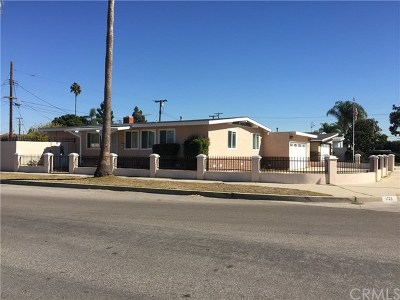 Lomita Single Family Home For Sale: 1725 240th Street