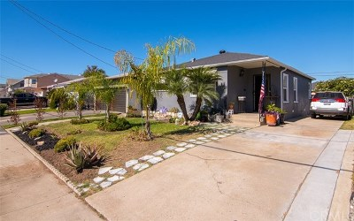 Hawthorne Single Family Home For Sale: 4527 W 142nd Street