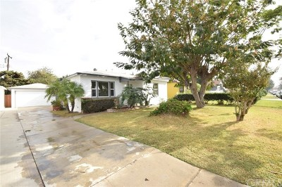 Downey CA Single Family Home For Sale: $579,000