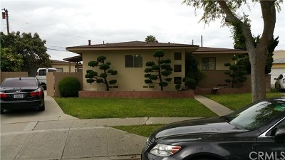 Torrance Single Family Home For Sale: 4232 W 172nd Street