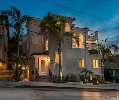 Hermosa Beach Condo/Townhouse For Sale: 632 9th Street