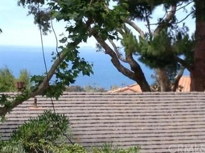 Palos Verdes Estates Single Family Home For Sale: 1613 Via Garfias