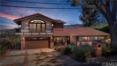 Los Angeles County Single Family Home For Sale: 27316 Sunnyridge Road