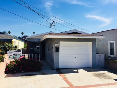San Pedro Single Family Home For Sale: 2620 S Kerckhoff Avenue