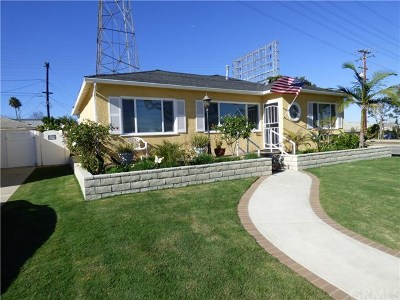 Redondo Beach Single Family Home For Sale: 3511 Gibson Place