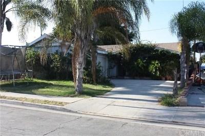 Carson Single Family Home For Sale: 923 E Joel Street