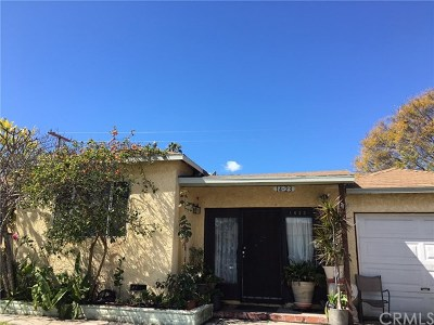 Compton Single Family Home For Sale: 1423 S Cliveden Avenue