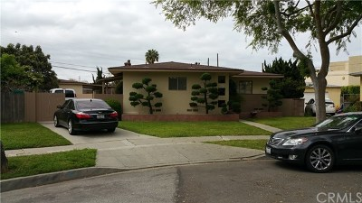 Single Family Home For Sale: 4232 W 172nd Street