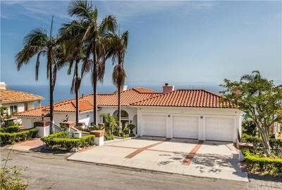 Rancho Palos Verdes Single Family Home For Sale: 3422 Palo Vista Drive