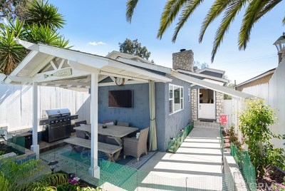 Single Family Home For Sale: 616 Rosecrans Avenue