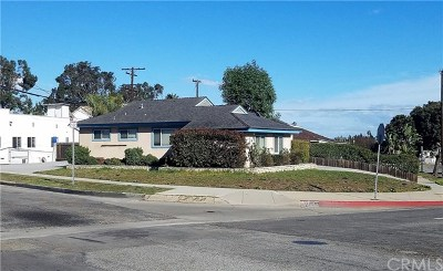 Torrance Single Family Home For Sale: 5227 Milne Drive
