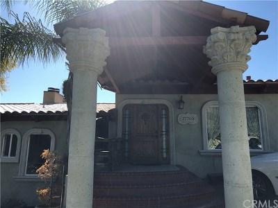 Rancho Palos Verdes Single Family Home For Sale: 27760 Palos Verdes Drive E