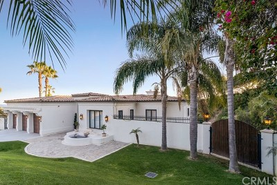 Los Angeles County Single Family Home For Sale: 51 Albero Court