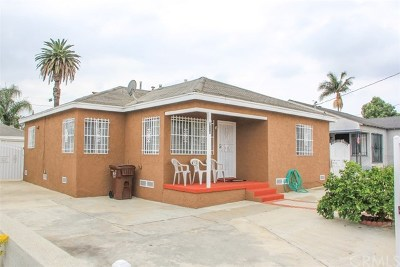 Compton Single Family Home For Sale: 914 W Arbutus Street