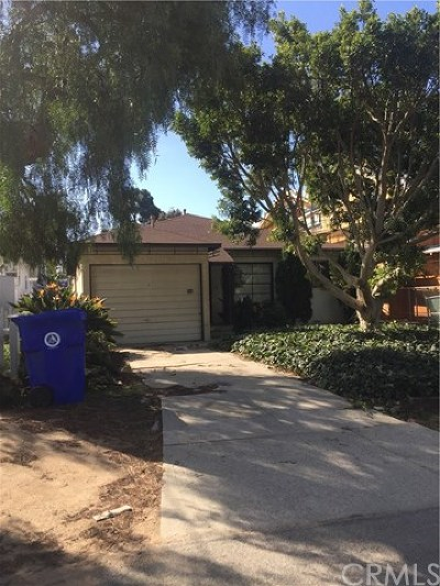 Manhattan Beach Single Family Home Active Under Contract: 742 29th Street