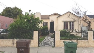 Compton Single Family Home Active Under Contract: 923 N Pearl Avenue