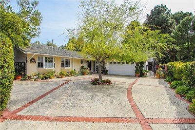 Rancho Palos Verdes Single Family Home For Sale: 26767 Shadow Wood Drive