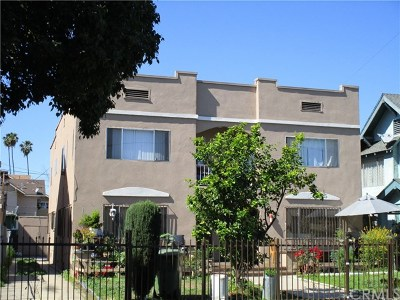 Los Angeles Multi Family Home For Sale: 1517 S Ardmore Avenue