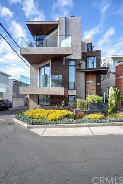 Manhattan Beach Single Family Home For Sale: 417 34th Street