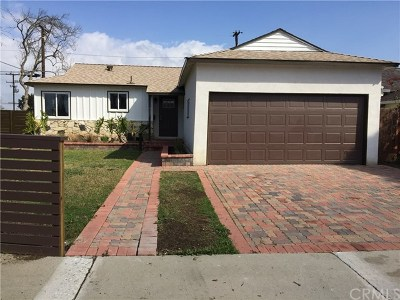 Torrance Single Family Home For Sale: 3945 W 176th Street