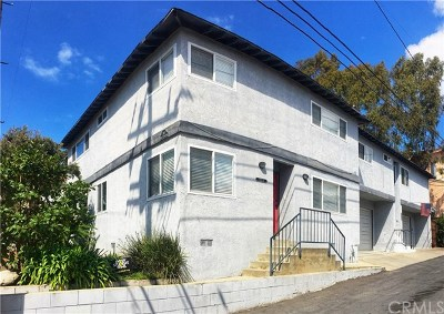 Los Angeles County Multi Family Home For Sale: 515 W Franklin Avenue