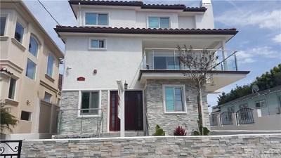 Redondo Beach Condo/Townhouse For Sale: 214 S Lucia Avenue #A