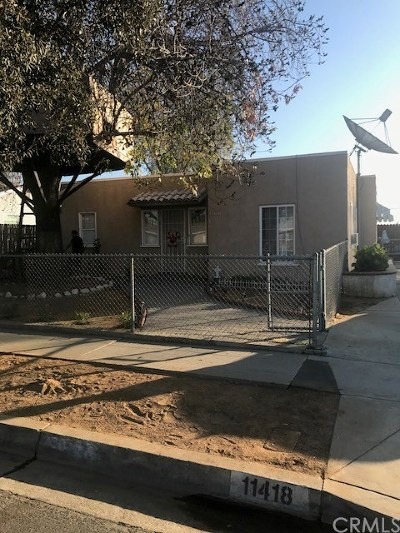 Whittier Single Family Home For Sale: 11418 Fidel Avenue