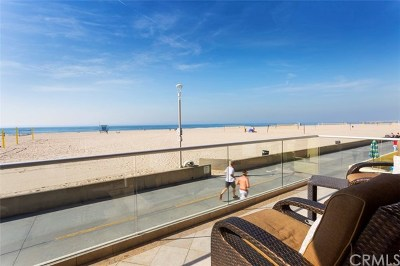 Hermosa Beach Single Family Home For Sale: 22 The Strand