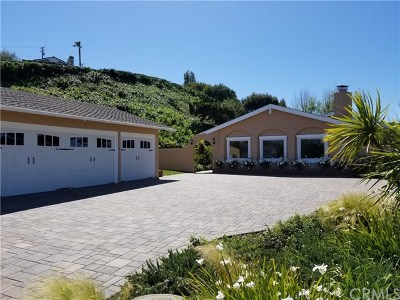 Rancho Palos Verdes Single Family Home For Sale: 2 Chaparral Lane