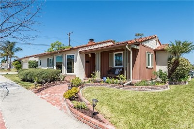 Torrance Single Family Home For Sale: 3711 W 170th Street