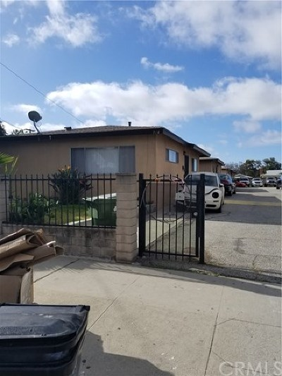 Gardena Multi Family Home For Sale: 718 W 168th Street