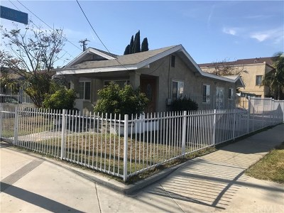 Long Beach Single Family Home For Sale: 2941 E 10th Street