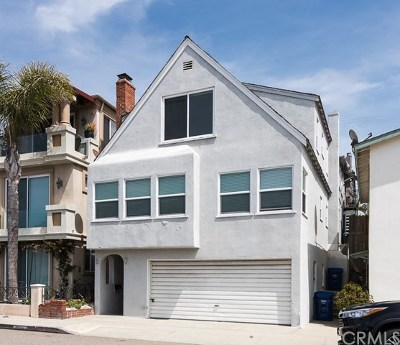 Hermosa Beach Single Family Home For Sale: 1650 Manhattan Avenue