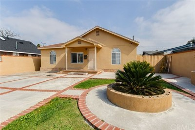 Harbor City Single Family Home For Sale: 1525 254th Street