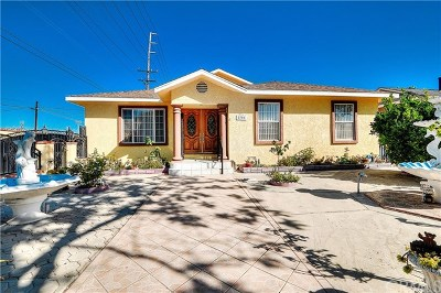Redondo Beach Single Family Home For Sale: 2701 183rd Street