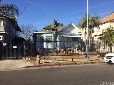 Los Angeles Multi Family Home For Sale: 2225 W 15th Street
