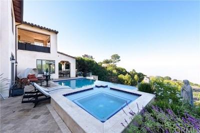 Los Angeles County Single Family Home For Sale: 30057 Via Victoria