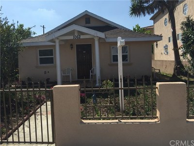 Harbor City Multi Family Home For Sale: 1062 W 252nd Street
