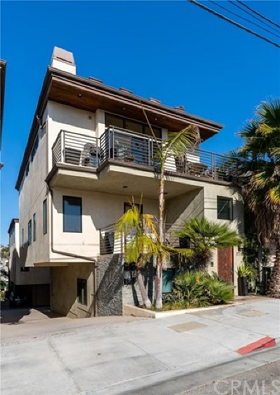 Hermosa Beach Condo/Townhouse For Sale: 836 Bard Street